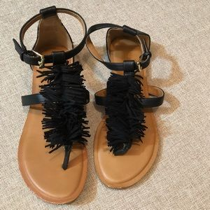 Old Navy Frilly Sandals